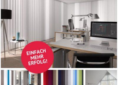 Lamellenkollektion Fürs Büro, Kanzlei Oder Praxis: Einfach Mehr Erfolg Mit Der Neuen Kollektion Von KADECO